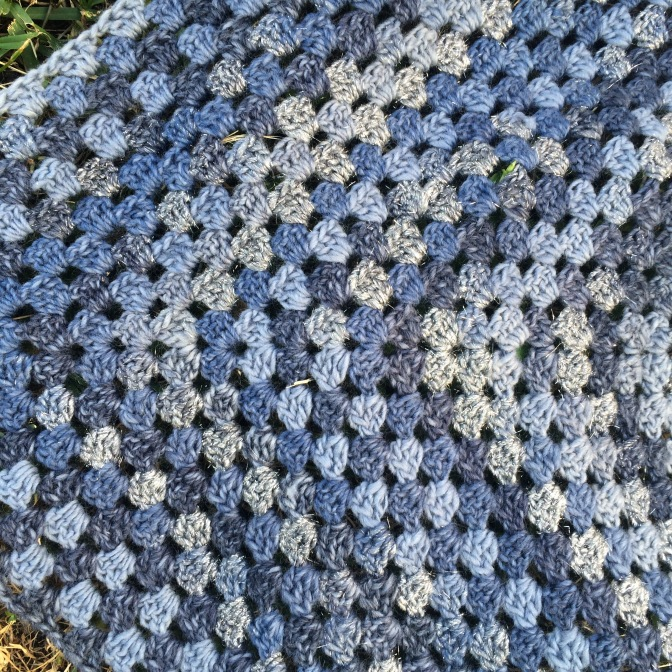 Finished: Frozen Shawl
