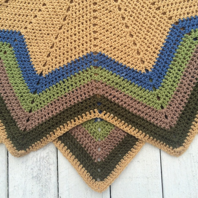 Finished: 12 point ripple 4 – Nana's  Blanket