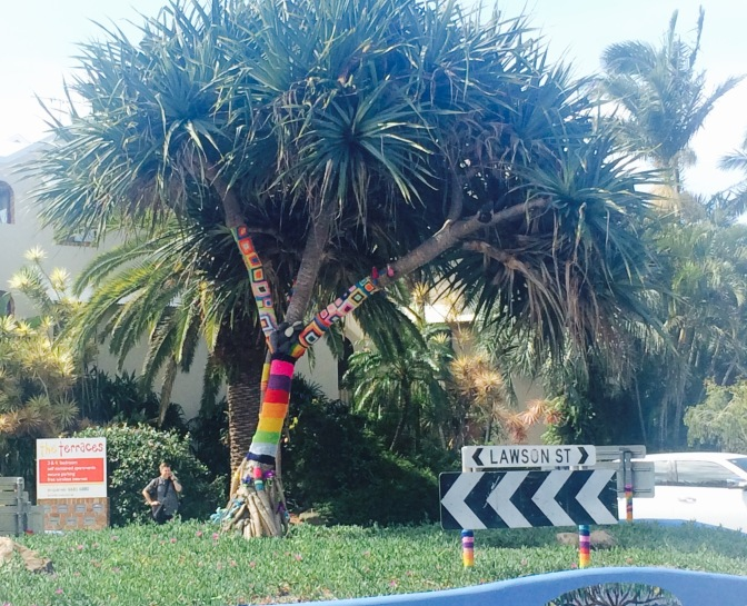 Yarn Bomb: Byron Bay