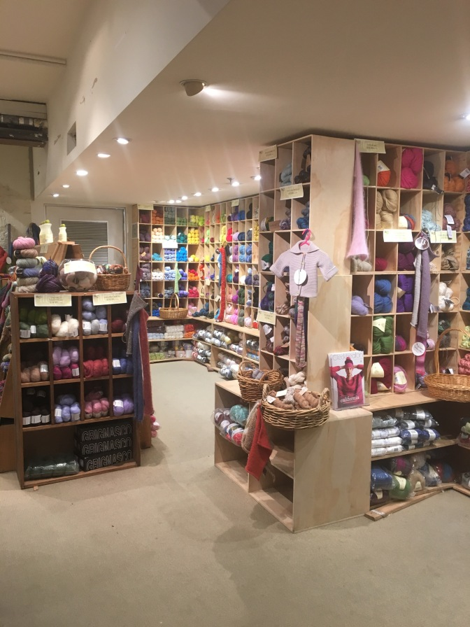 Yarn Shop Love: Morris and Sons