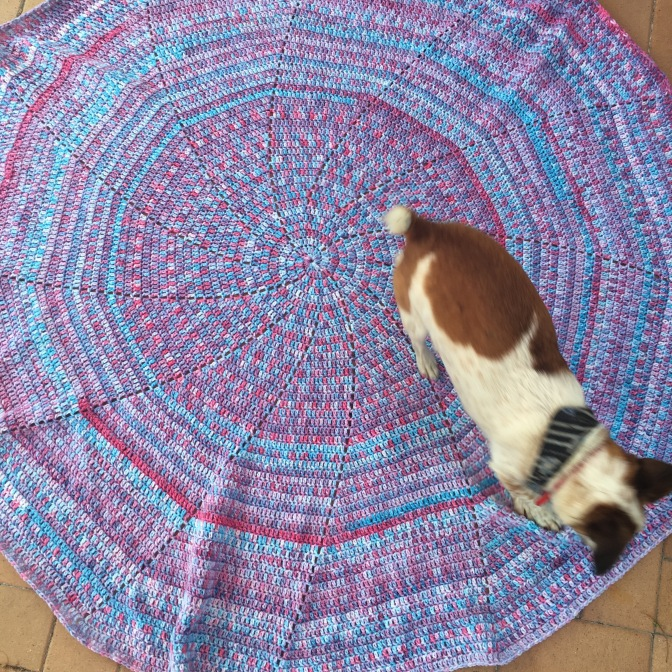 Finished: Spiral Blanket 1