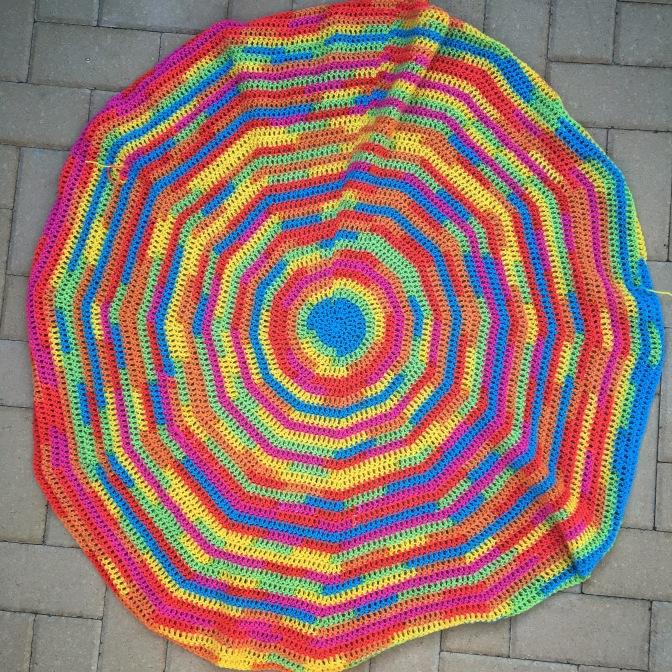 Pattern: Rainbow Circle