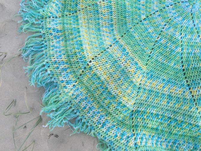 Finished: Spiral Blanket 2