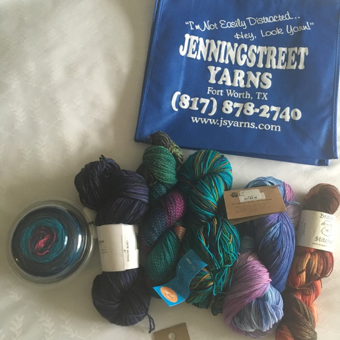 Yarn Store Review: Jenning Street Yarns | Forth Worth Texas