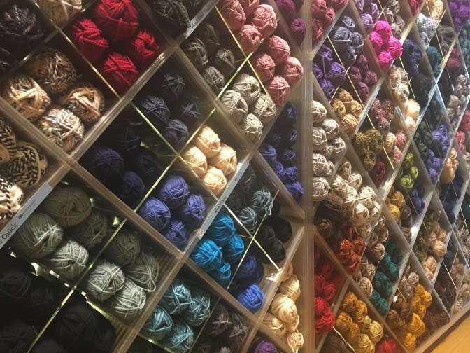 Yarn Store Review: Lion Brand studio | New York