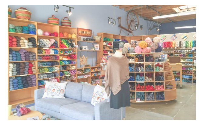 Yarn Store Review: Wildfiber Studio | Santa Monica LA