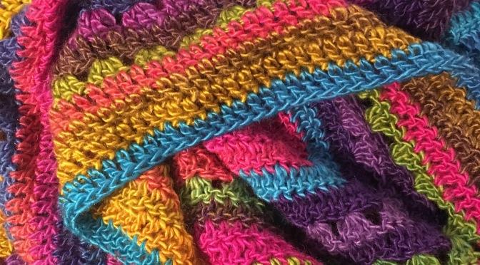 Finished: Carnival Blanket