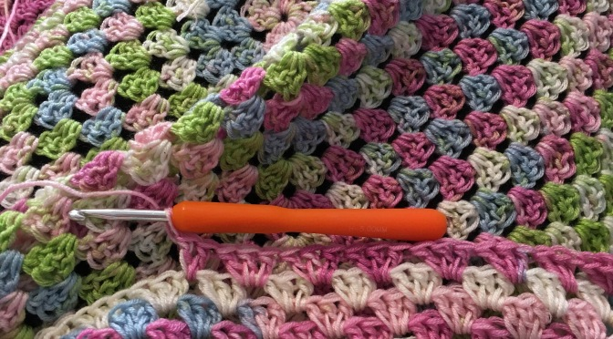 Finished: Garden Granny Blanket