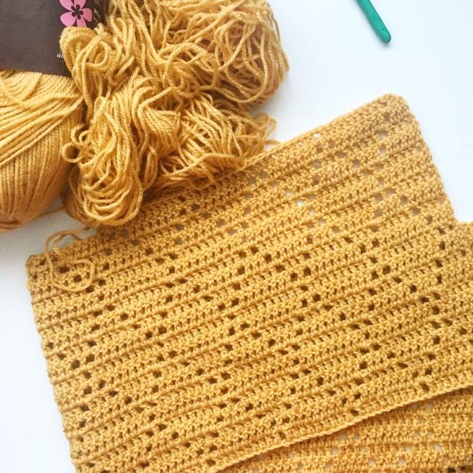 Mustard Blanket